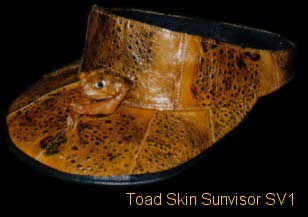 Toad Sunvisor With Toad On Front