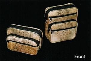 Toad Skin Belt Purse - Medium Size